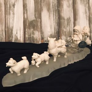 Dept 56 Snowbabies Making Tracks Collector Edition